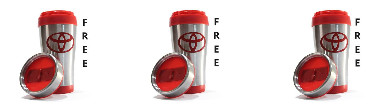 Special: FREE Toyota Thermo Mug!