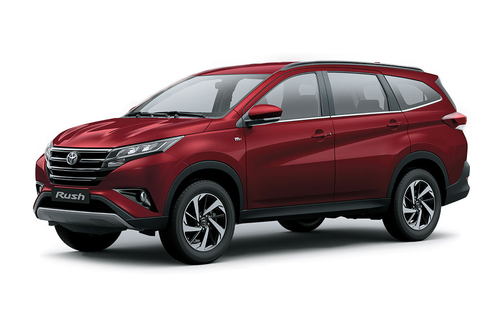 Toyota Rush Photos Colors And Specifications