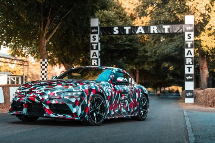 The Legend Returns: TOYOTA SUPRA