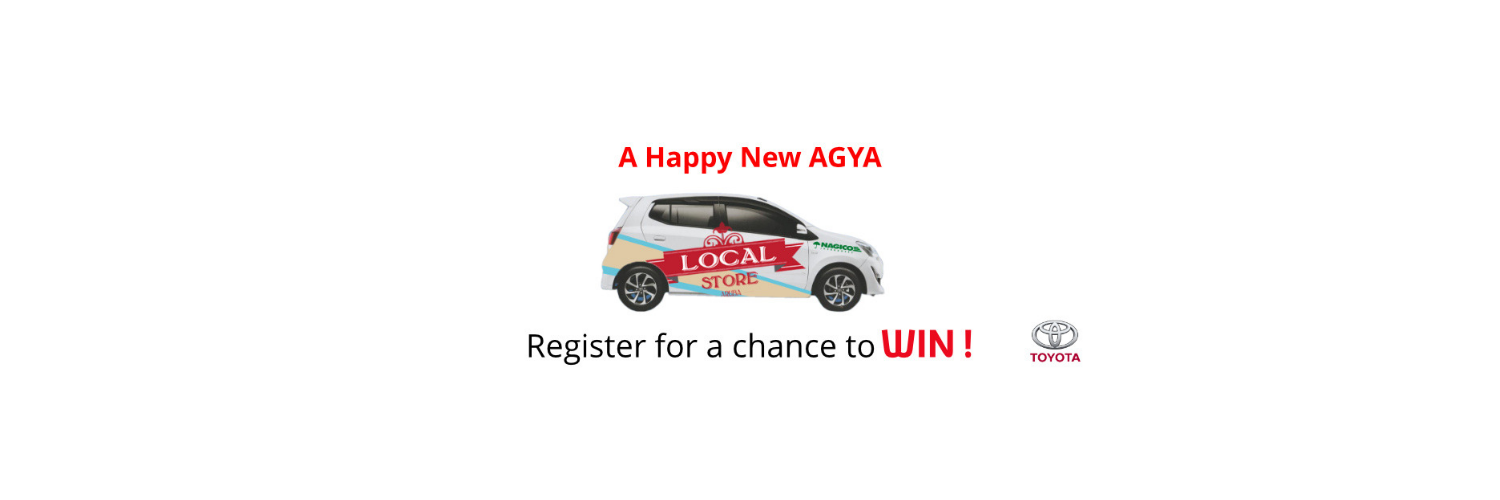 Toyota Aruba x Local Store: WIN A HAPPY NEW AGYA!