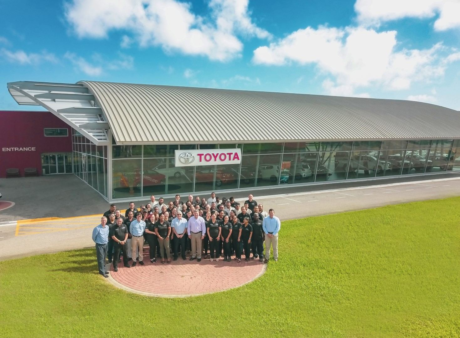 CEO di Toyota Motors Corporation a keda impresiona cu Garage Cordia