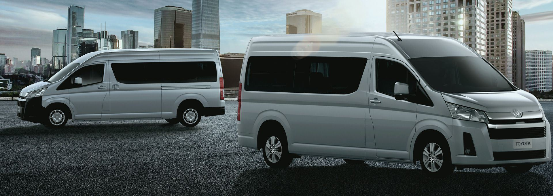 The new Hiace slide