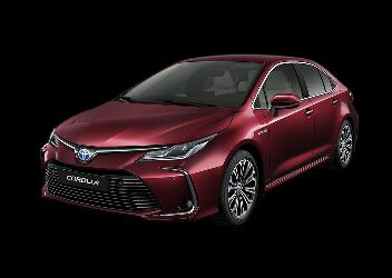 Toyota Corolla Hybrid LE Red
