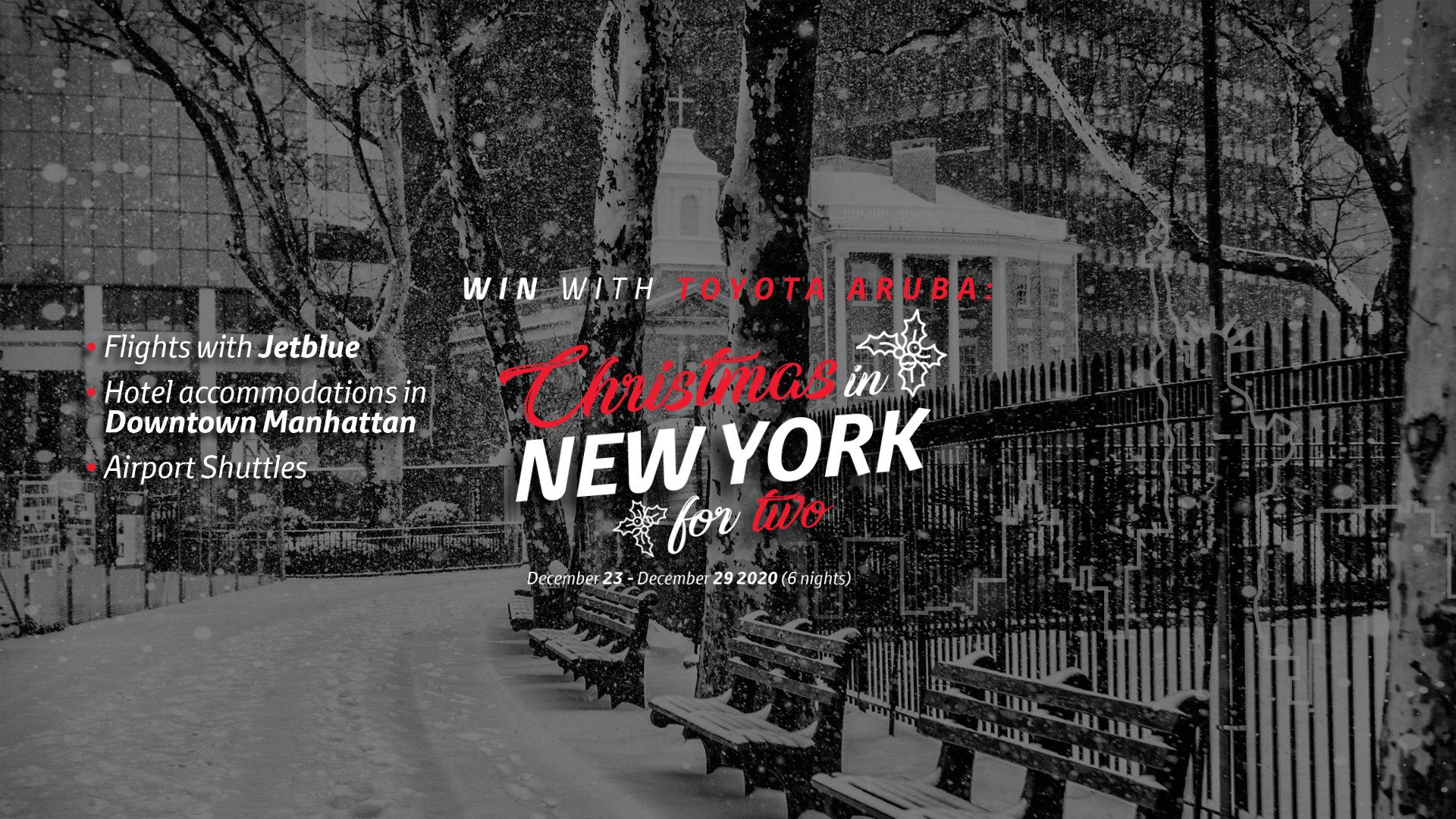 Win Christmas in New York slide