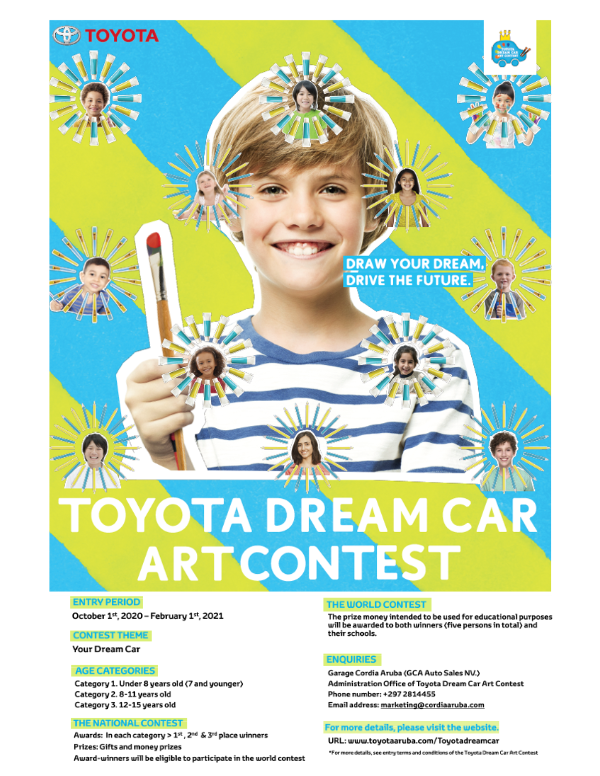 Toyota Dream Car Art Contest Poster