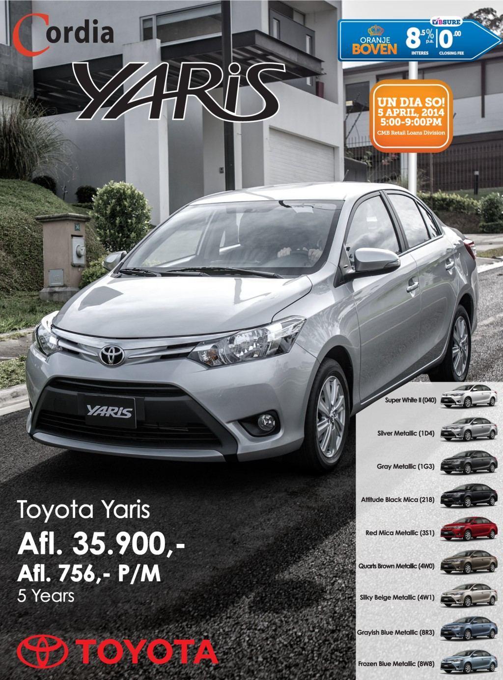 Rental Cars In Aruba Toyota