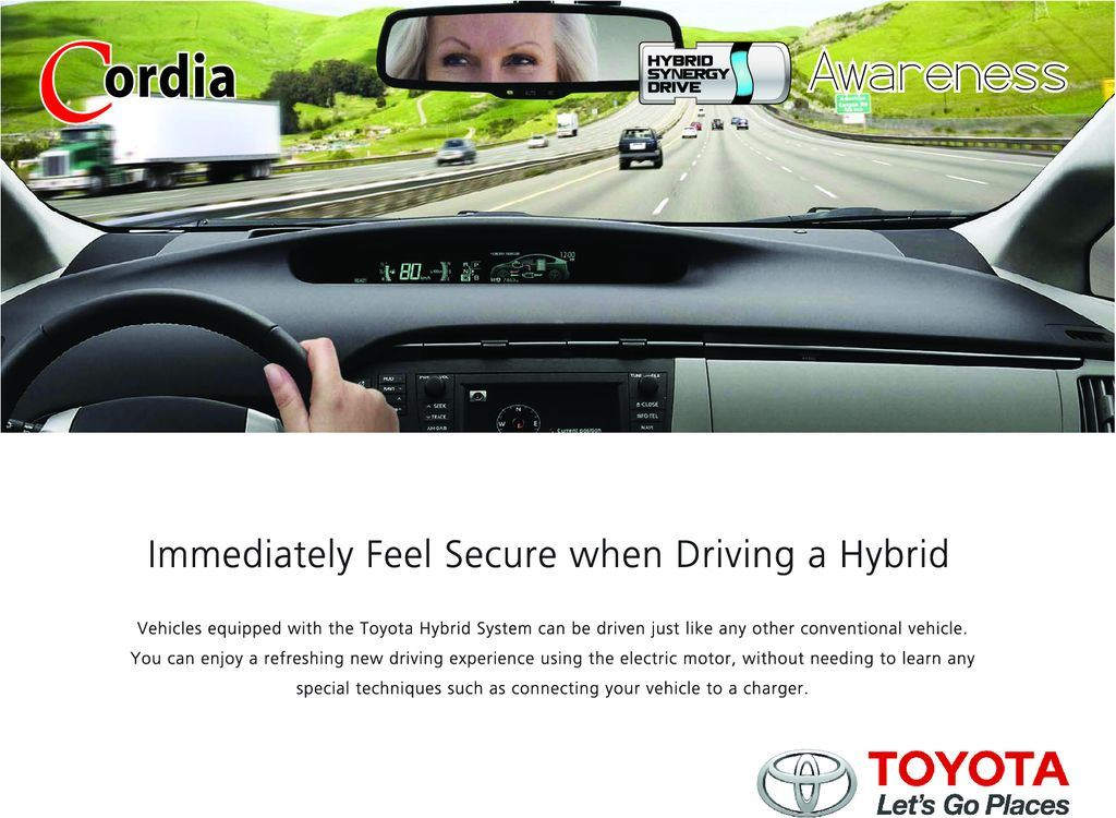 Immediately Feel Secure When Driving A Hybrid Awareness