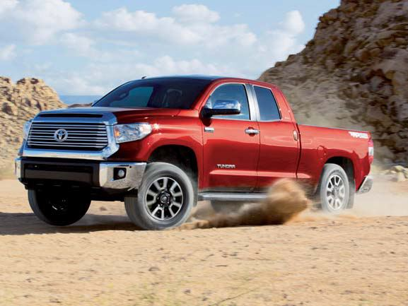The 2015 Toyota Tundra is a unique breed