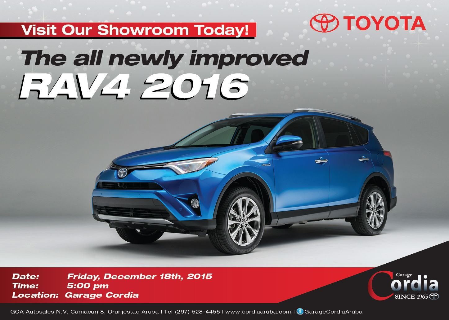 Unveiling of the All Newly Improved RAV4 2016