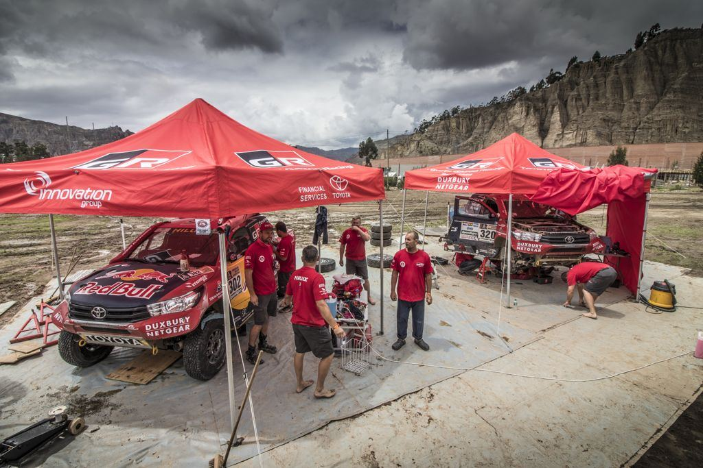 Catching a Breath on The Dakar Rest Day: What About The Crews in The Bivouac?