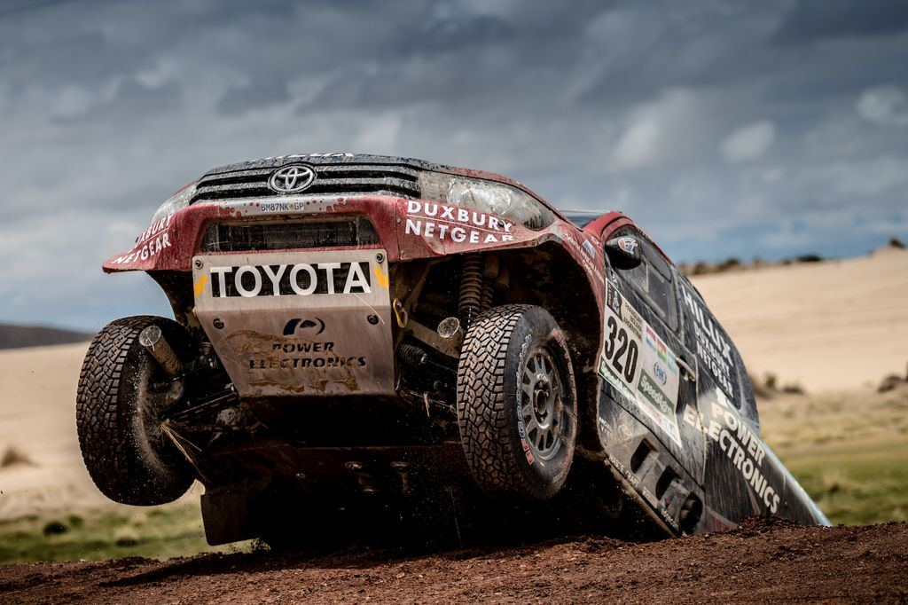 The Dakar Enters The Marathon Stage: Competitors On Their Own