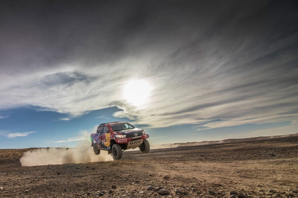 Toyota Challenged the Dakar Roads One More Time