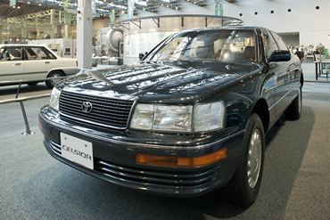 A 1989 Toyota Celsior