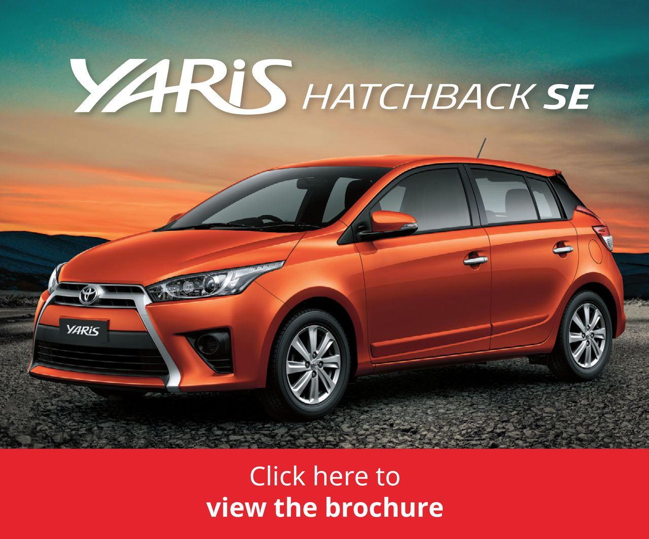 Download the Yaris HB brochure here
