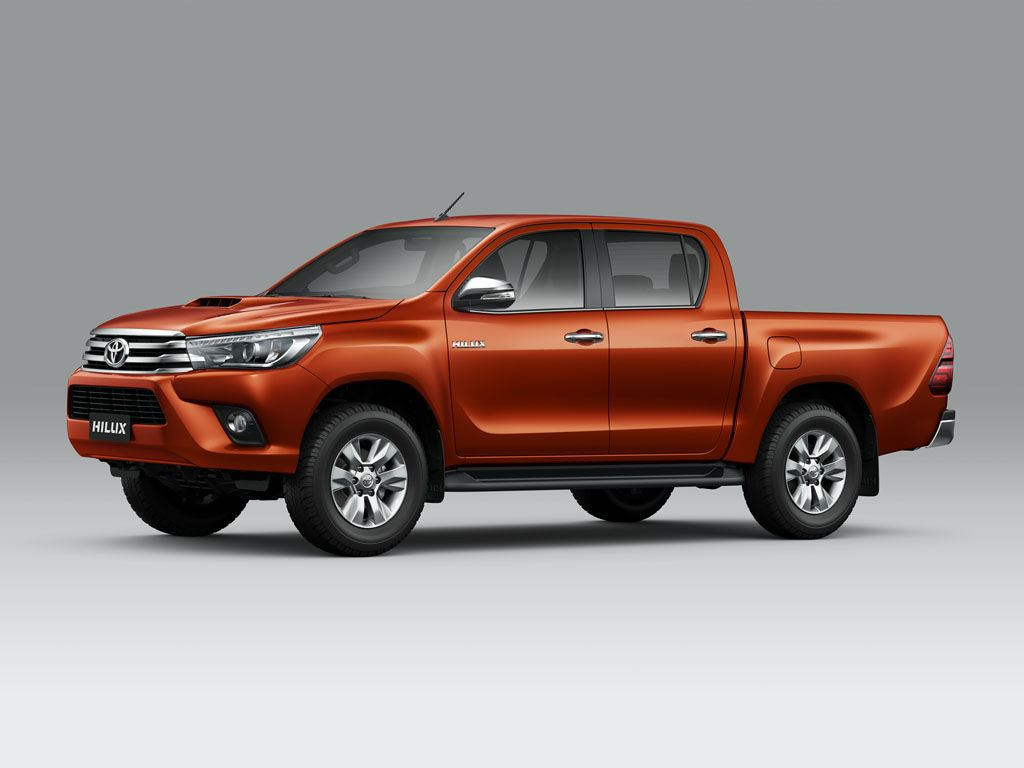 Toyota Hilux - Single and Double Cabin - photos, colors and