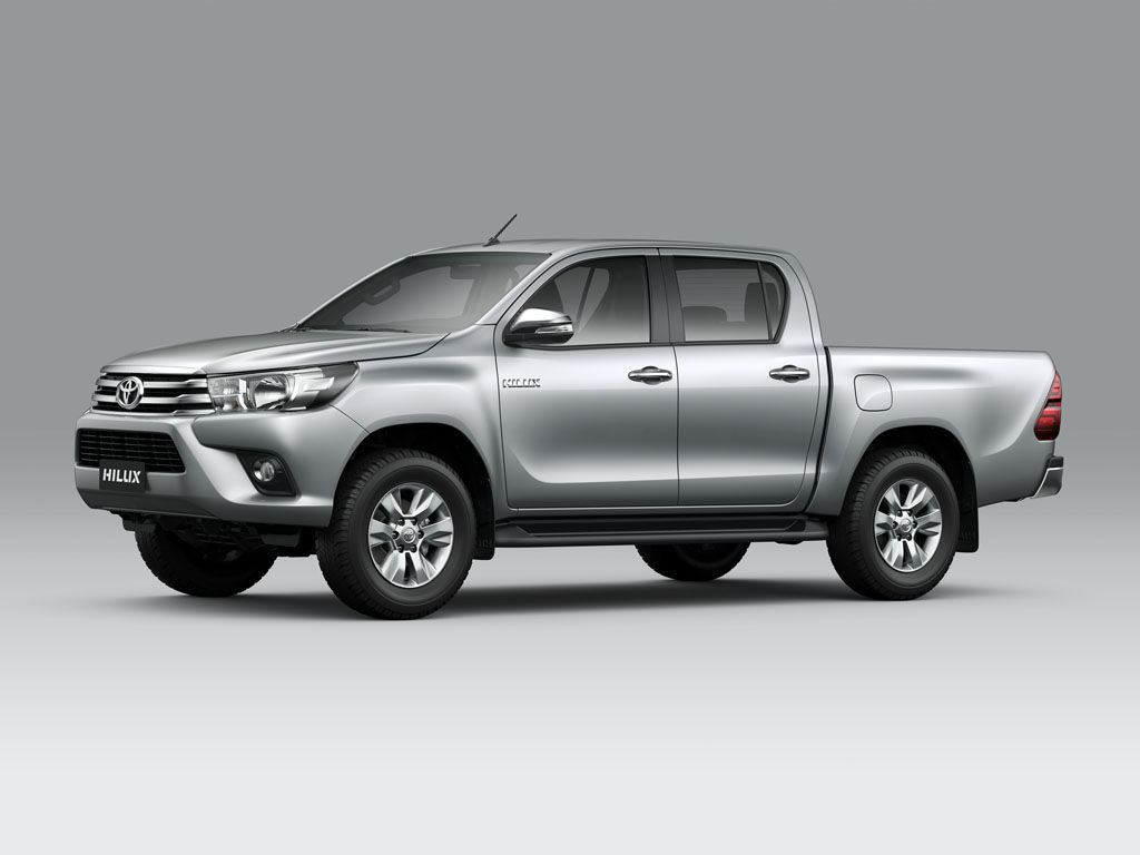 toyota hilux - single and double cabin - photos, colors and specs