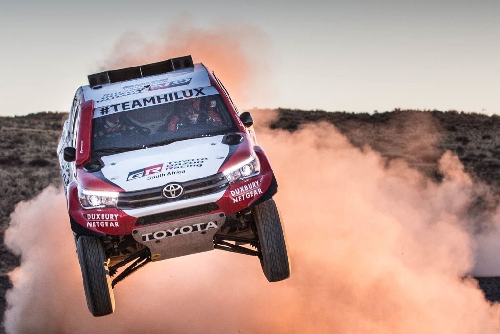 The 2018 Dakar Rally: Toyota again rises to the challenge!